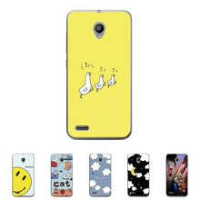 For Vodafone Smart prime 6 5.0 inch Hard Plastic Case Mobile Phone Cover Bag Cellphone Housing Shell Skin Mask DIY Customize(China)