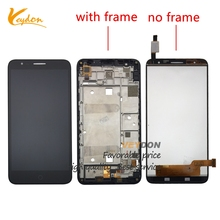 "5.5"" LCD Complete For Alcatel Pop 4 Plus 5056D OT5056D OT5056 5056 5056A LCD Display Touch Screen Digitizer With Frame Assembly(China)"