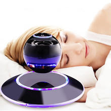 Innovative Product Perfect Gift Bluetooth 4.0 Wireless Levitating Speaker with LED Light
