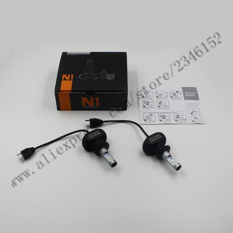 50w 8000lumens LED Headlitght kit xenon white H7 H8 H9 H10 H11 H16 9005 9006 PSX24 PSX26 LED Headlight car-styling<br><br>Aliexpress