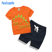 Cotton Short Sleeve Baby Clothing Set Summer Cheap kids Girls Toddler  Boys Clothes Set Roupas Bebes Adorable Infant Sets