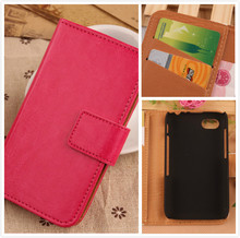LINGWUZHE Simple color Wallet Design Magnetic Clasp&Card Slot Flip Case For BlackBerry Q5 4G LTE Hot Cell Phone Leather Bag