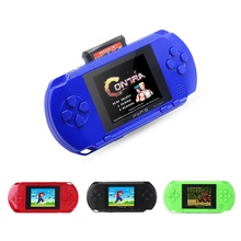 EDAL Fashion Good Gift For Children 2.7inch LCD Rechargeable PSP PVP Game Console Retro Megadrive 16 Bit 150+ Games(China)