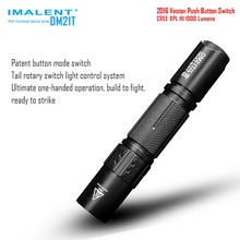 IMALENT DM21T CREE XPL HI LED Tactical Flashlight for Self-defense Tactical Searching 18650 Battery Flash Light Torch Luxury Kit