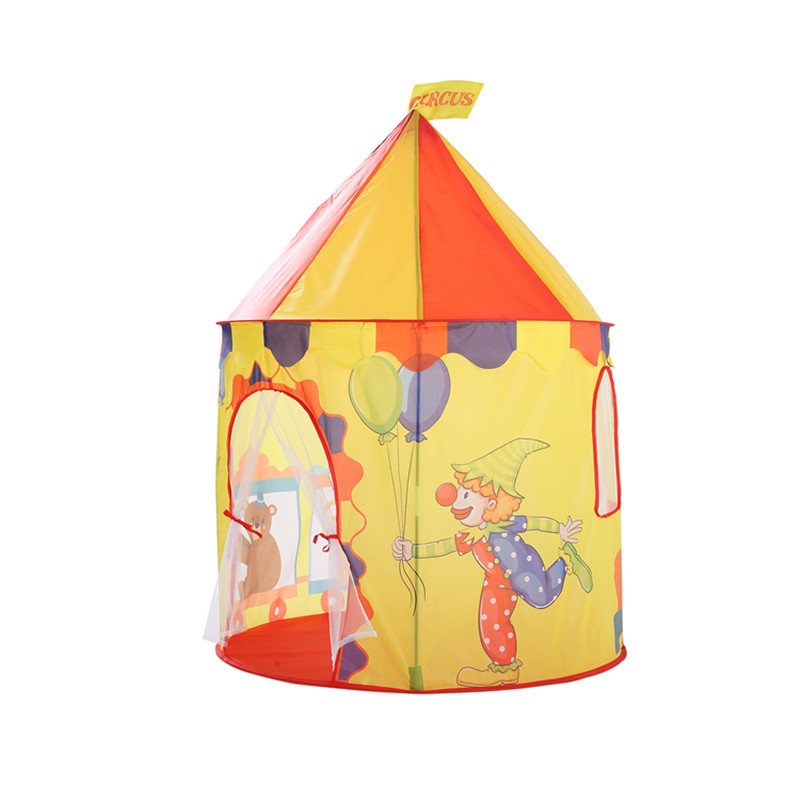 NoteThe package is not including balls  sc 1 st  DHgate.com & Toy Tents Circus Bear Printing Children Play House Castle Tent ...