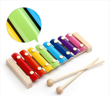 Wooden Knock Toy Children's Musical Instruments Xylophone For Kids Kids Toys Educational Toys Baby Octave Hand Knock Piano
