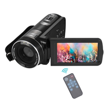"Digital Video Camera Full HD 1080P Portable Camcorders DV 3.0"" Rotating LCD Touch Screen 16x Zoom 24MP Anti-shake Camcorder(China)"