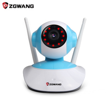 ZGWANG 720P Mini IP Camera WiFi Wireless Surveillance Camera CCTV Security Camera P2P Night Vision Mobile Remote Control IP Cam(China)