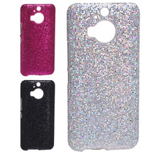 Deluxe Bright Glitter Shiny football skin evening party lady PC plastic Case for HTC One M9 Plus/M9+ shell protector back cover