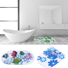 Anti-slip PVC Bath Mat Bathroom Safety Non-slip Suction Cups Carpet Bath Shower Floor Cushion Rug Bathmat Floor Mat 39*69(China)