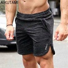 d41124f43d Verão Esporte Shorts Homens Shorts de Ginástica para Calções de Corrida  Homens Atlético Basquete Musculação Treinamento