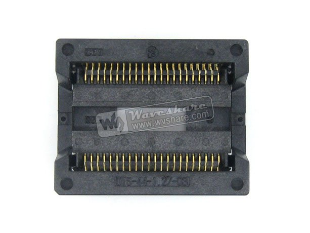 Parts SOP44 SO44 SOIC44 OTS-44-1.27-03 Enplas IC Test Burn-In Socket Programming Adapter 13.3mm Width 1.27mm Pitch<br>