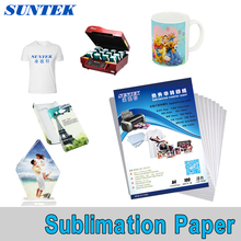 Cheap High quality 100 sheets A4 tansfer paper sublimation paper For mug glass rock for heat press machine(China)