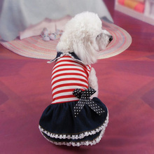 Spring Autumn Pet Dog Dresses Puppy Clothing Jeans Tutu Shirt Cat Outfit Coat Pajamas Clothes for Small Dog Cheap Pet Apparel 21