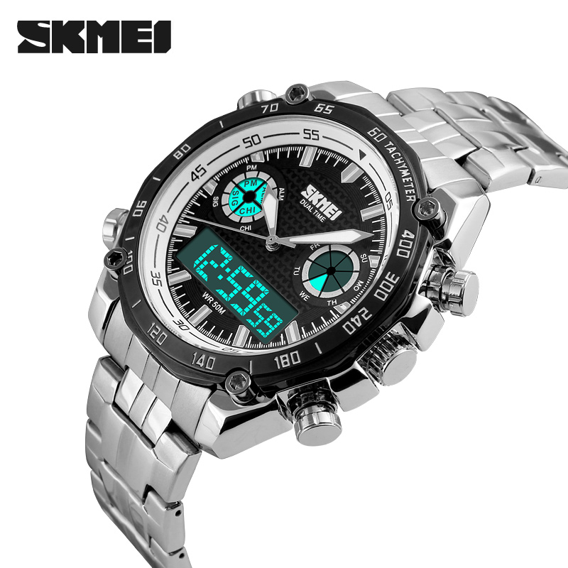Mens Watches Top Brand Luxury Swimming Digital LED Quartz Outdoor Sports Watches Military Watch Relogio Masculino Clock Men<br><br>Aliexpress
