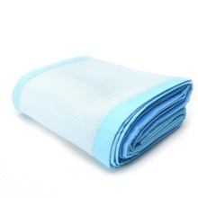 Buy Polyester Breathable Baby Cot Mesh Bumper Infant Crib Safety Protector Toddler Nursery Pad Baby Care Bedding 3Pcs/Set Pink Blue for $19.21 in AliExpress store