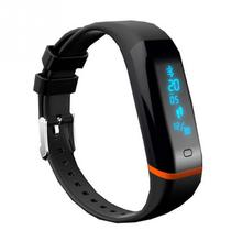 X12 IP67 Bluetooth smart band bracelet heart rate pedometer sleep monitor IM notification call reminder Android/IOS USB charging