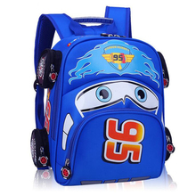 2017 Hot Sale fashion Children School Bags Cartoon Car Backpack Baby Toddler kids Book Bag Kindergarten Boy Backpacking Girls
