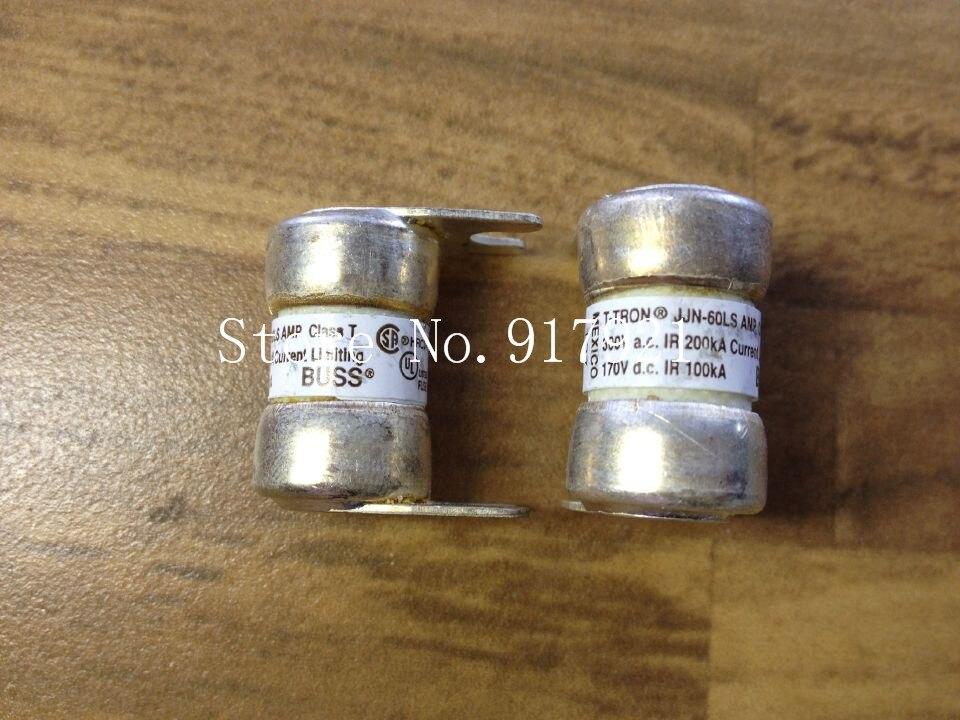 [ZOB] The United States Bussmann JJN-60LS BUSS fuse original authentic  --3pcs/lot<br>