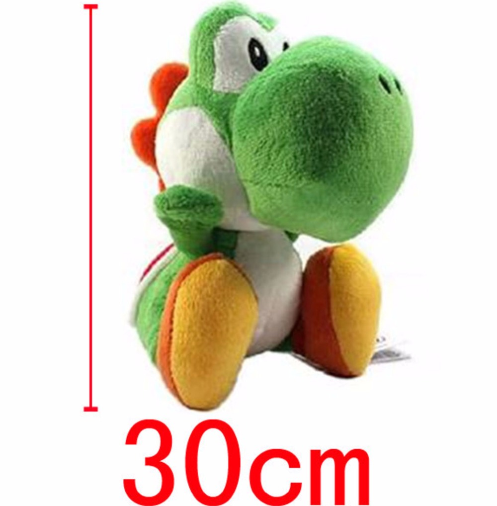 12inch Super Mario Bros Yoshi Plush Doll Toy With Tag Soft Yoshi Doll Kid's Gift 30cm(China (Mainland))