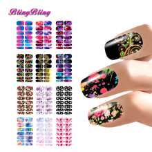 12 sheets Nail Stickers Water Decals Transfers Foil Decoration Flower Mystery Galaxies Abstract Design Nails Wrap Manicure - OhMyBeauty Store store