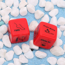 1 Pair 6 Sided Sex Positions Dice Adult Sex Toy For Couple Bachelor Party Adult Lover Novelty Gift Erotic Products(China)