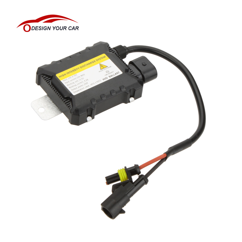 DC12V 55W Car Xenon HID Replacement Digital DC Ballast Ultra Slim All Light Bulbs Fit Car Light Source(China)