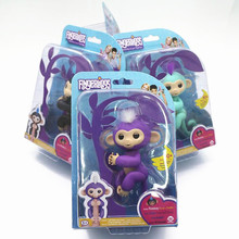 Original Fingerlings Interactive Baby Monkey Mini Interactive Fingerlings Smart Sensor fingers llings Smart induction toys box