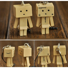 Hot Sale! promotion Lovely Mini Danboard PVC Action Figure Toy Danbo Dolls Pendants Phone Rope Toys