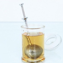 New arrival 304 Stainless steel creative tea balls mini tools net metal tea infusers filter(China)