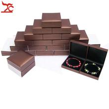 Treachi Directselling 48pcs  Brown Jewelry Bangle Bracelet Boxes Plastic Quality Jewelry Case Pachage Gift Box