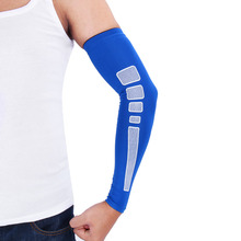 YOSOO Outdoor Sports Basketball Volleyball Arm Sleeve Warmers UV Protection Cycling Compression Elbow Support Pads For Men Women(China)