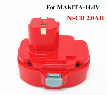 Ni-CD 14.4v 2.0Ah Replacement  for MAKITA  power tool battery  1433 1434 1435 1435F 192699-A 193158-3 ,for 1051D 1051DWD 1051DWD