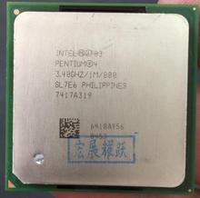 Intel Pentium 4 P4 3.4GHz P4 3.4 P4 3.4E Socket 478 1M 800 SL7E6 specifications P4 3.4E(China)