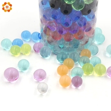 12colors 500PCS/Lot Crystal Ball 2.5MM-3MM Crystal Soil/Crystal Ball/Sea Baby Hydrogel Beads Water Holder Can Grow Up To1.5-20CM(China)