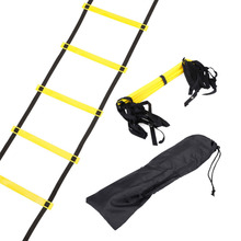 Newest 10 Rung 15 Feet 5M Agility Ladder for Soccer Speed Football Fitness Feet Training Equipment Durable For Man or Woman
