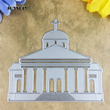 Holy Church Card Maker Metal Die Cutting Dies For DIY Scrapbooking Photo Album Decorative Die Cutting Template