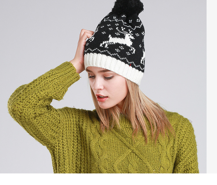 Pure hand-knit hat women warm autumn and winter national wind with the ball knitted capОдежда и ак�е��уары<br><br><br>Aliexpress