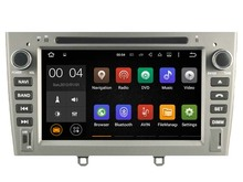 Android 5.1.1 CAR Audio DVD player FOR PEUGEOT 308 408 (2010-2011) gps Multimedia head device unit  receiver BT WIFI