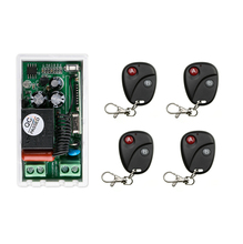 AC 220V 1 CH RF Wireless Remote Control Switch 1 receiver+4  transmitter  Simple connection  home appliances/lamp