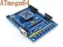 Atmel Atmega64 Board ATmega64A-AU ATmega64A AVR Development Board Starter Kit All I/Os from Waveshare Free Shipping(China)