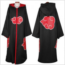 Naruto Cloak Robe Akatsuki Cosplay Costumes Orochimaru uchiha madara Sasuke itachi cloak clothes Free Shipping(China)
