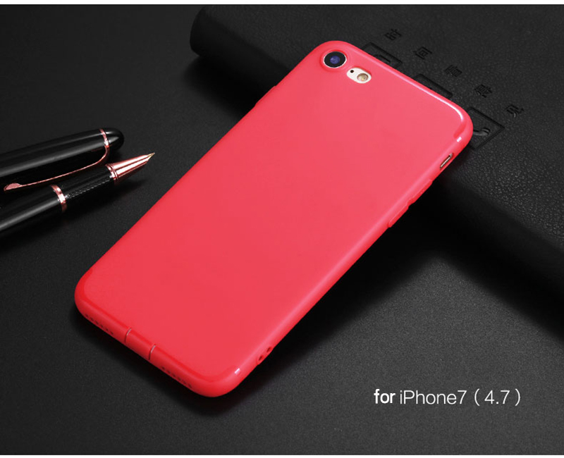Ultra Thin Phone Cases for iPhone 6 Case 6s Plus Candy TPU Plastic Cover for iphone 7 Case 7 Plus SE 5 5s Cases Silicone Phone 14