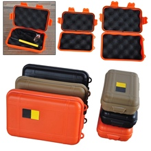Portable Outdoor Waterproof Shockproof Airtight Survival Tool Storage Case Container Anti pressure Carry Box Large/Small Size(China)