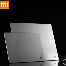 100% Original Xiaomi Metal mouse pad 18*24cm*3mm, 32*18cm*3mm, Luxury Simple Slim Aluminum computer mouse pads Frosted Matte