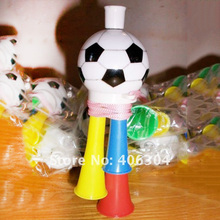 Free shipping, Football trumpet,horn,14cm length,whistle,cheerleading in the football, basketball game,(China)