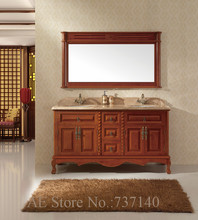 antique bathroom cabinet wood furniture floor mounted bathroom cabinet furniture buying agent wholesale price(China)