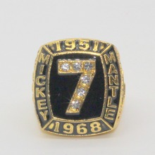 1951 1968 Mickey Mantle Baseball Championship Ring(China)