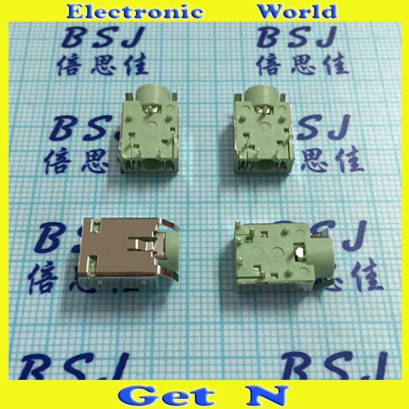 30pcs-1000pcs    PJ-343B for Tablet Notebooks Phone 3.5mm Audio Jack Socket 3.5mm Headphone Connectors Socket High Quality<br><br>Aliexpress