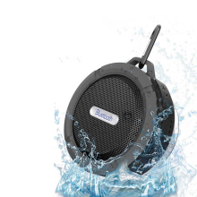 Bolida C6 Blutooth new BTS-06 Subwoofer Waterproof Shower Mini Wireless Bluetooth Speaker Music Audio Receiver phone Hoparlor(China)